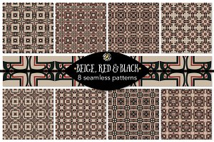 Set 86 - 8 Seamless Patterns