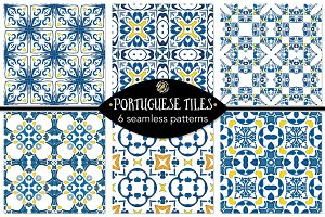 Set 87 - 6 Seamless Patterns