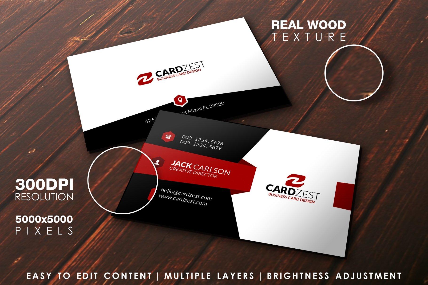 Business Card Mockup ~ Product Mockups ~ Creative Market