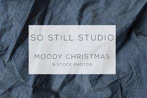 Moody christmas stock photo bundle