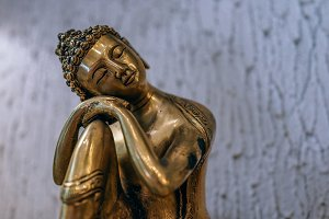 Golden Buddha Home Ornament