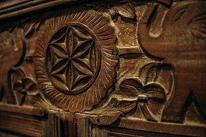 Hand Carved Drawer