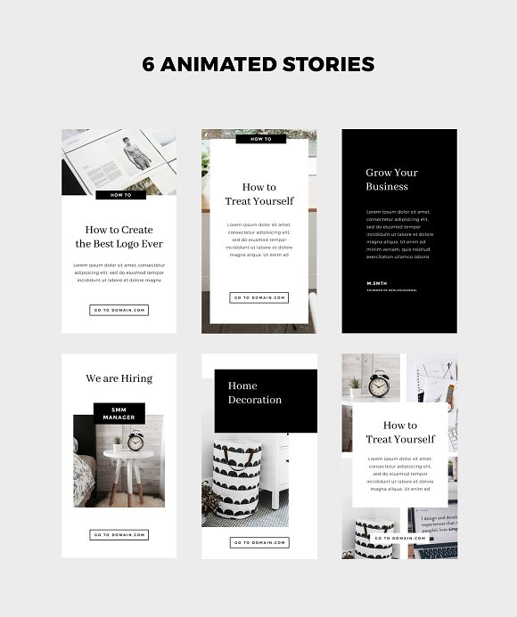 Animated Instagram Stories & Posts in Instagram Templates - product preview 2