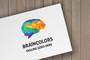 Brain Colors Logo