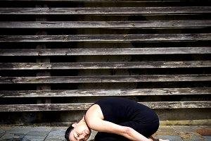 Yoga woman