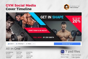 Facebook Gym Timeline Cover