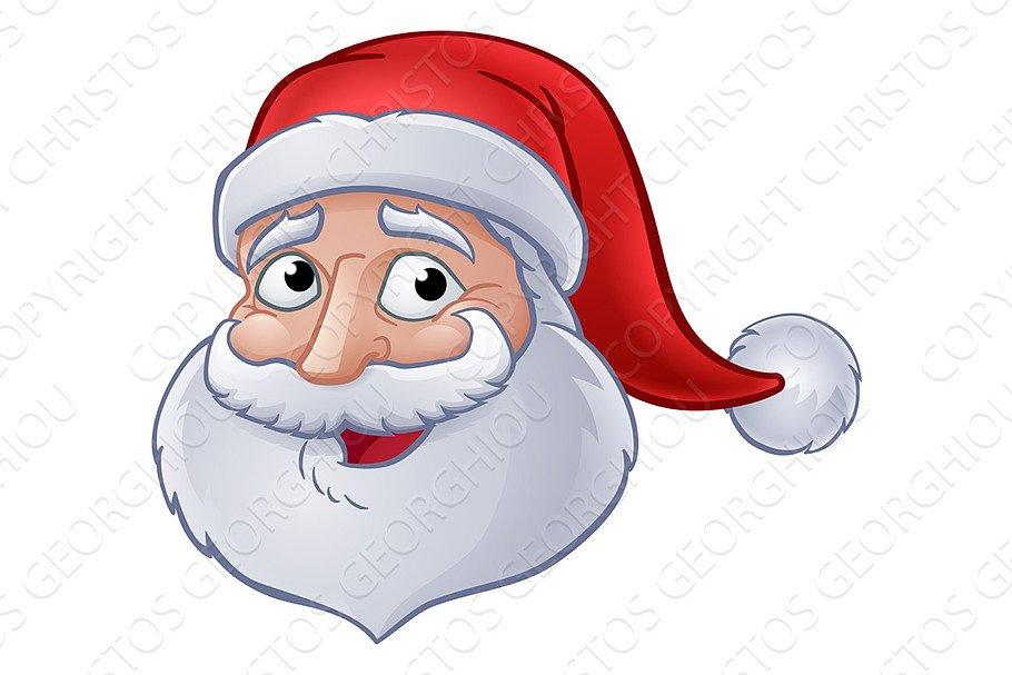 e3151e24ef Christmas Santa Claus Cartoon ~ Illustrations ~ Creative Market