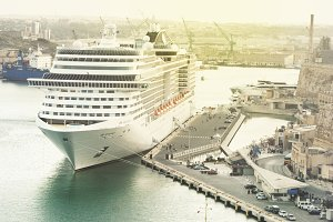 transatlantic cruise port