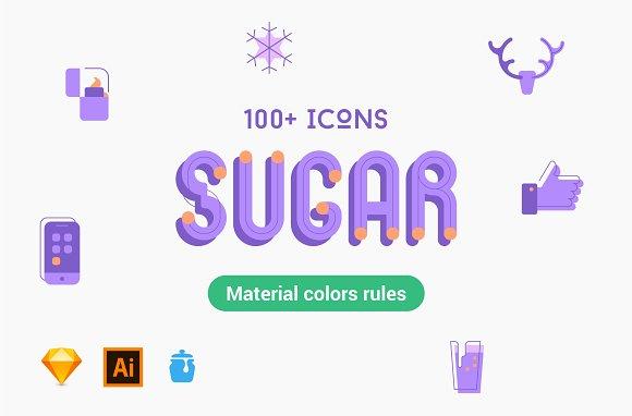 Sugar Icon Set