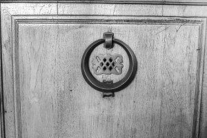Vintage Handle Door Detail