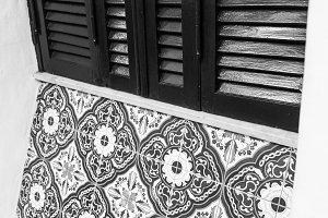 Vintage Shutter Detail
