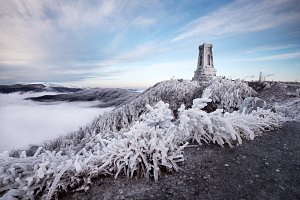 Winter on Shipka Peak