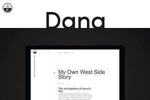 Dana Wordpress Theme