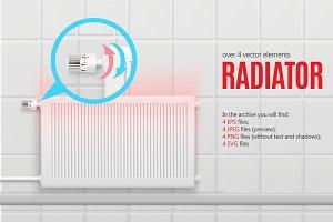 Sale! Realistic Radiator Set