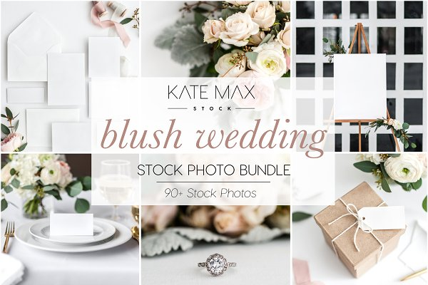 Wedding Stock Photo Mockup Bundle