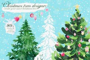 Christmas Tree Designer graphic set