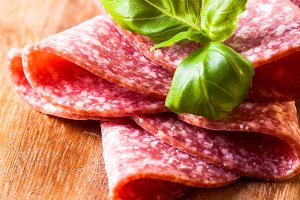Salami slices macro
