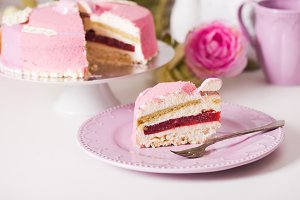 Delicious french cake