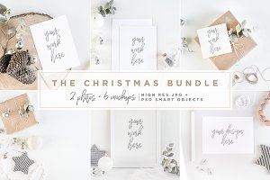The Christmas Bundle - Mockups
