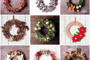 Christmas handmade wreath