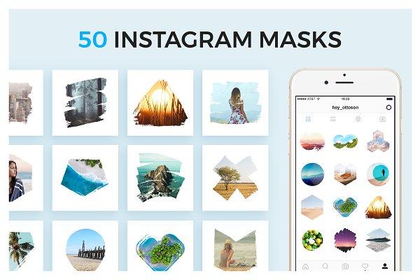 50 Instagram Masks