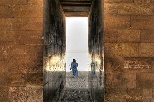 Entrance at Djoser mortuary complex
