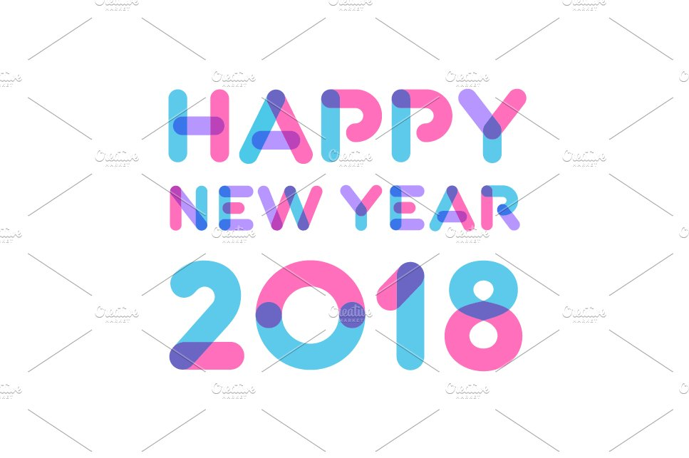 Happy New Year 2018 Cards