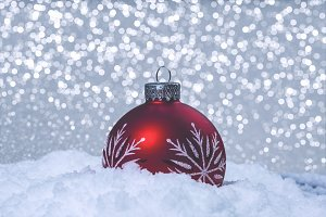 Isolated Christmas Ornament