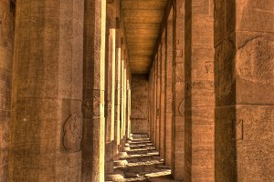 Columns in the Hatshepsut Temple