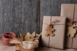 Christmas Presents with Holiday Shap