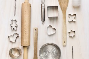 Easter bake tools