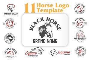 Vintage Horse Logo