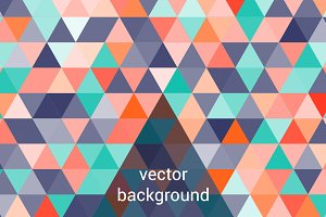 Geometric background.