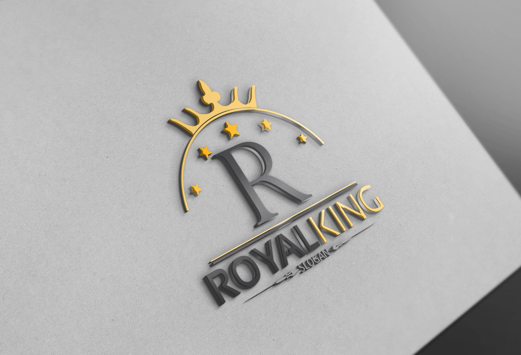 Royal King Logo ~ Logo Templates ~ Creative Market