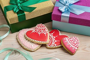 Valentine's gingerbread.