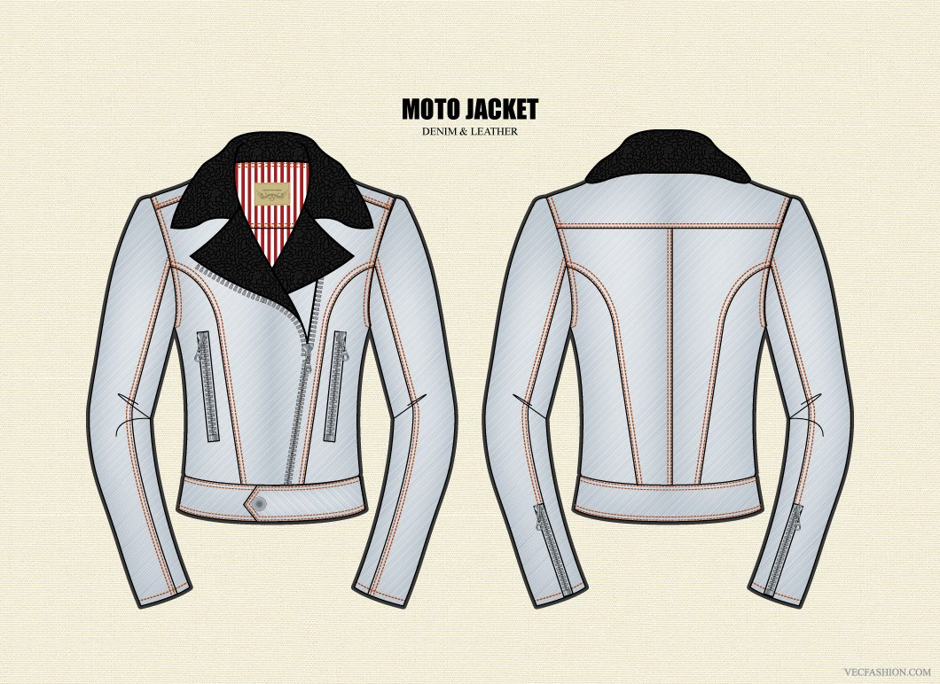 Moto Jacket Pattern New Inspiration