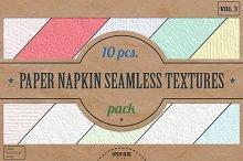 Napkin Seamless Textures Pack v.3