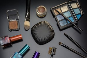 Elements makeup of women