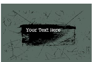 Grunge Background for Text Banner