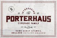 Porterhaus Typeface Family