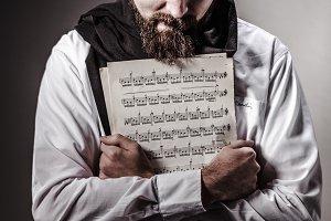 crazy genius musician