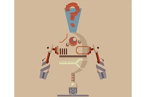 robot illustration graphic
