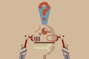 robot illustration graphic