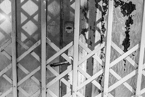 Vintage Iron Window Garden