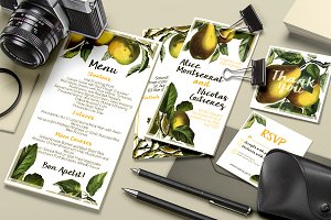 Botanical Wedding Suite Vol 1.