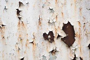 Peeling paint on wall texture