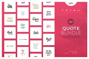 150 Quotes Bundle