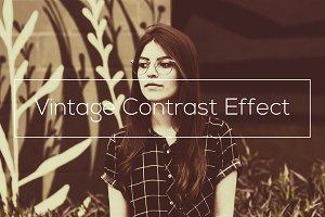 Vintage Contrast Effect