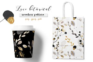 Luxe botanical pattern