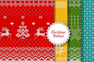 Christmas knitted patterns